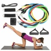 Home Gym Equipment - 11 Piece Resistance Tube Workout Set