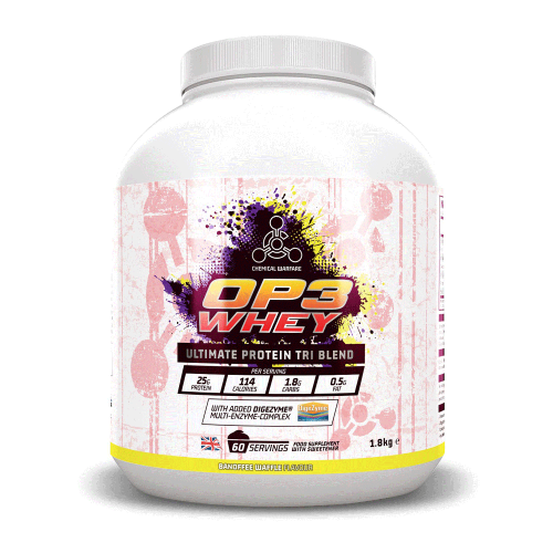 Chemical Warfare OP3 Whey Protein Tri Complex 1.8kg