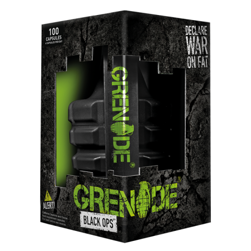 Grenade Black Ops Fat Burner 100 capsules