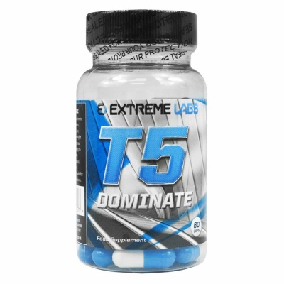 Extreme Labs T5 Dominate Fat Burner - 90 capsules