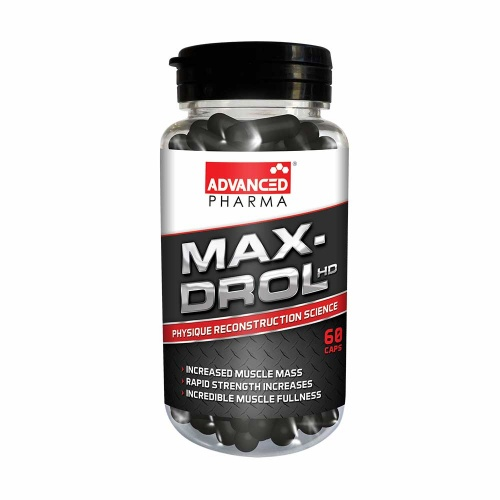 Advanced Pharma Max-Drol HD 60 Capsules